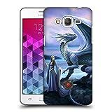 Head Case Designs Offizielle Anne Stokes Neue Horizonte Drachen Freudenschaft Ruckseite Hülle für Samsung Galaxy Grand Prime