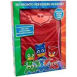 Giochi Preziosi - Super Pigiamini PJ Masks Costume Carnevale Gufetta, Taglia 4/5 anni