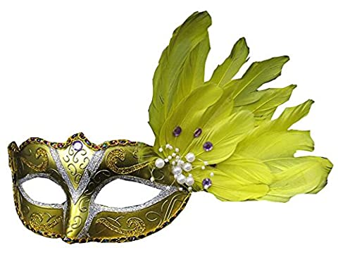 Masquerade Masque Dor - Halloween Party Masquerade Masques Mardi Gras costume