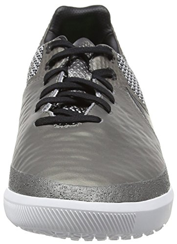 Nike Magistax Finale Ic, Chaussures de Football Homme Argent (Metallic Pewter/White/Green Strike/Black)