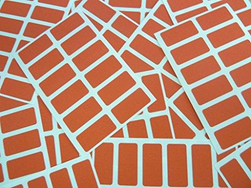 Minilabel 200Etiquetas Adhesivas Rectangulares (25x 12mm, color rojo