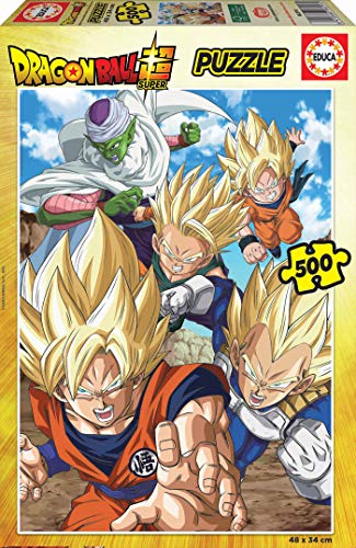 Educa Borras Puzzle Dragon Ball 500 Piezas (18216)