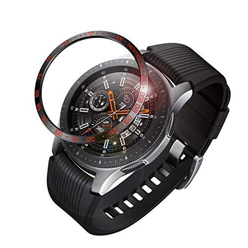 FINTIE Bezel Anello per Galaxy Watch 46mm & Gear S3 Frontier & Classic, Acciaio Inossidabile Protezione Custodia AntiGraffio...