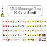 LitEnergy Cinema Segno tra cui 90 a colori pastello Emojis e speciali simboli decorativi per l'uso con A4 Cinematic Light Box