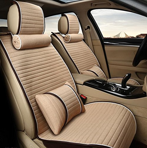 AKZLL MS-Autositz/Sitzkissen / vier Jahreszeiten universal Auto-Sitzbezüge , beige