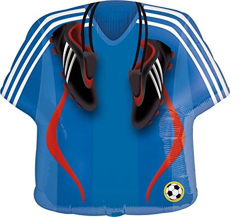 Amscan 2491601 Folienballon Fußball Trikot