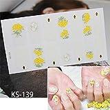 KICNEX Adesivo Per Unghie Adesivi Classici Non Tossici Impermeabili Per Smalto Per Unghie Manicure Strumenti Per La Decorazione Di Nail Art MS-Z506