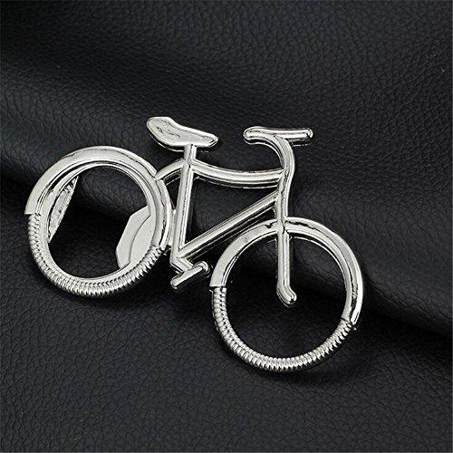TT Zeichnung Zink Legierung Stereo Fahrrad Flasche Opener Creative Fashion (Fahrrad-stereo)