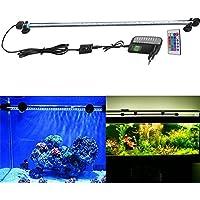 SUBOSI 62cm Lampe de Tube Submersible 33LED Aquarium Eclairage Lumière Multicolore pour Poisson Réservoir