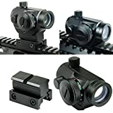 Best Airsoft Scopes - Spike Tactical Reflex Red Green Dot Sight Scope Review