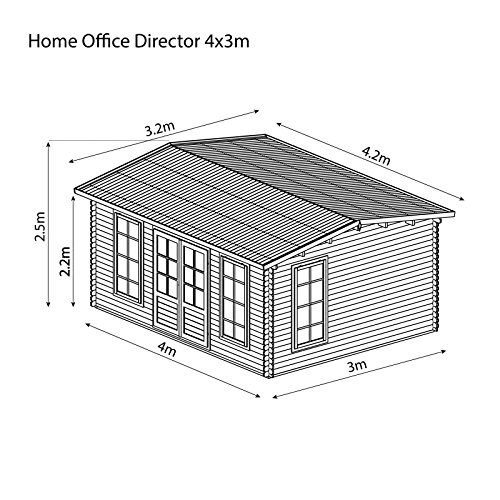 Waltons-5m-x-4m-Home-Office-Director-Stylish-Wooden-Log-Cabin