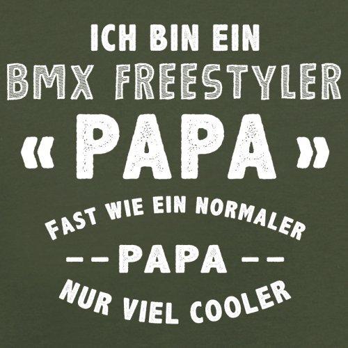 Ich bin ein BMX Freestyler Papa - Herren T-Shirt - 13 Farben Olivgrün