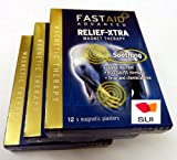 Robinson 4007 RELIEF XTRA Magnetic Therapy (3 packs of 12)