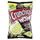 Lorenz Snack World Crunchips WOW Cream & Mild Wasabi, 10er Pack (10 x 110 g)