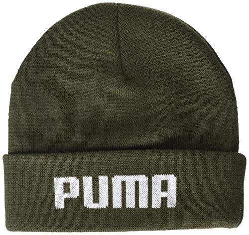 Puma Erwachsene mid fit Beanie Mütze, Forest Night, Adult