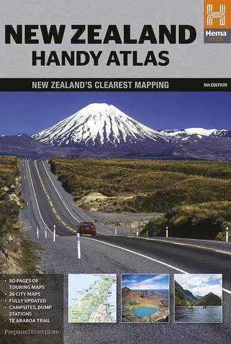 New Zealand Handy Atlas 2015 por Hema Maps Pty LTD