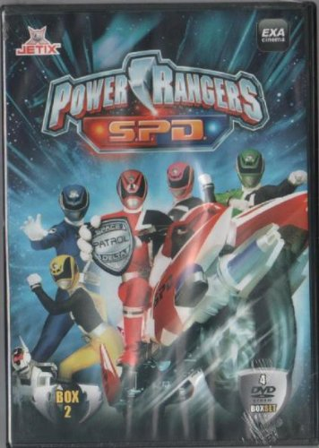 POWER RANGERS S.P.D. BOX 2 - 4 DVD