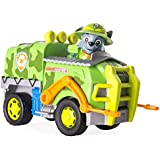 Paw Patrol-Patrulla de la pata Rocky's Jungle Truck - rescate de la selva - camión de la selva de Rocky