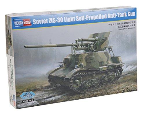 Hobby Boss 83849-Maqueta de Soviet zis de 30Light de Self Propelled Anti Reservorio Gun