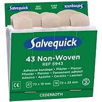 Salvequick Passende Refills für den Spender, 43 x Vlies 1.9 + 2.5 x 7.2 cm preisvergleich bei billige-tabletten.eu