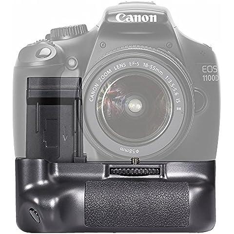 Neewer® Batería Grip/Empuñadura Vertical con 2 Piezas de Batería Reemplazo de LP-E10 para Canon EOS 1100D / 1200D / Rebel T3 /