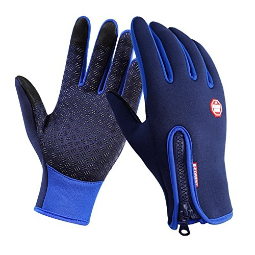 SWIDUUK Winter Touch Screen Motorcycle Fishing Outdoor Sports Mittens Skiing Windproof Waterproof Gloves
