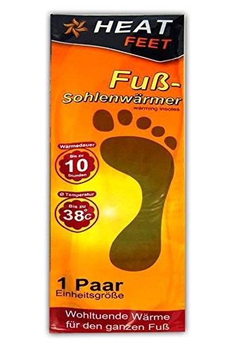 HAC24 1 Paar Fußwärmer Einheitsgröße | Thermopad Schuhe | Schuhheizung | Schuhwärmer
