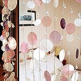 Schale kristall perlen vorhang,Nach hause commercia tür bildschirm Dekorative tür zeichenfolge vorhang perlen-A
