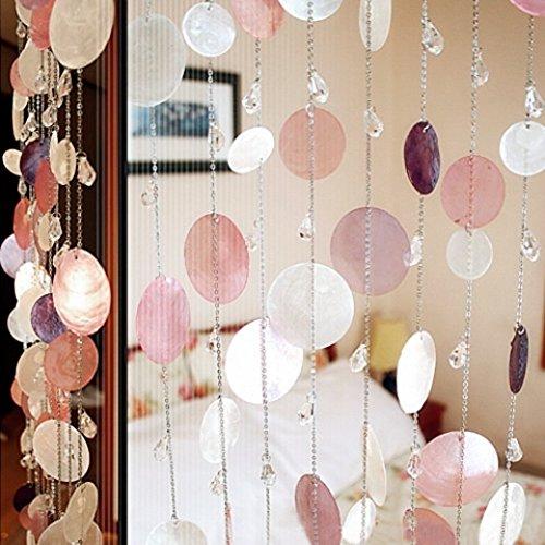 Schale kristall perlen vorhang,Nach hause commercia tür bildschirm Dekorative tür zeichenfolge vorhang perlen-I