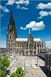 Poster 61 x 91 cm: Kölner Dom von euregiophoto -