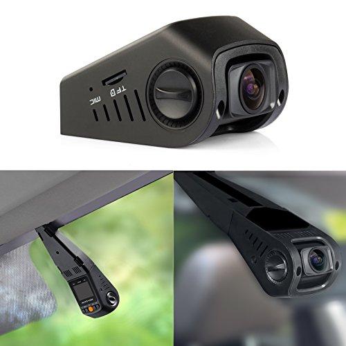 AUTO-VOX B40C A118C DVR Stealthcam Autokamera Kondensator Version 1,5″mit Full HD Dashcam 170°Video-Kamera-Recorder Hitzebeständig Dash-cam
