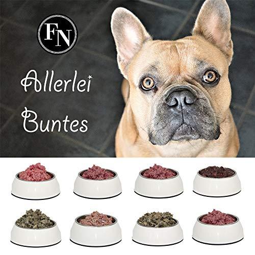Frostfutter Nordloh > Allerlei Buntes < 24 x 500 g, Barf Hundefutter gefroren, Frostfleisch-Paket, Gefrierfutter-Set für Hunde, Barf Frischfleisch