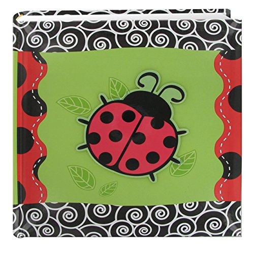 (Pioneer Foto Alben 200-pocket 3D-Lady Bug Cover Foto Album mit Applikation, 4von 6)