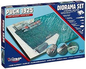 Mirage Hobby 401001-Maqueta de Puck 1925Diorama Set (Naval Base),
