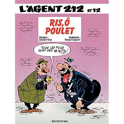 L'Agent 212 - Tome 12 - RIS,O POULET