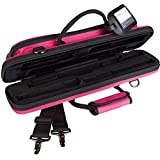 Protec PB308HP Slimline Flute Pro Pac Case - Hot Pink