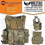 Militac Delta - Veste tactiqueGilet pour airsoft/paintball/combat/assaut avec poches pour chargeur., MTP