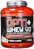 BWG Opti+ Whey 90 Protein, Eiweißshake, Muscle Line, Haselnuss, 1er Pack (1 x 2390g Dose)