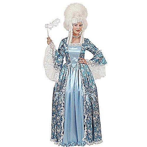 Theater Kostüm Catherina die Grosse in blau Größe (Kostüme Theater Barock)
