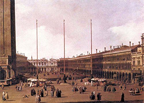 Das Museum Outlet-Piazza San Marco [2] von Canaletto-A3Poster