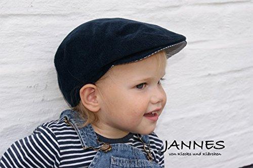 Schiebermütze Wunschfarbe Kuschel-Cord Kinder HANDMADE in vielen Größen, Baby newborn Gr. 35 - Erw. Gr. 64, Herstellung nach dem Kauf, 16 Farben, personalisiertes Geschenk für Babys/Kinder -