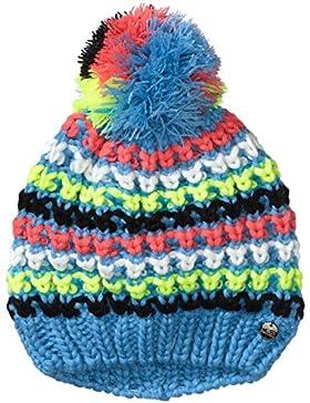 CMP Cappello di maglia Bambina, Turchese (Lido Blue), Taglia unica, Turchese (Lido Blu), Taglia unica
