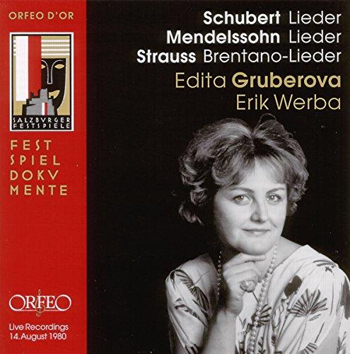 Schubert, Mendelssohn: Lieder; Strauss: Brentano-Lieder