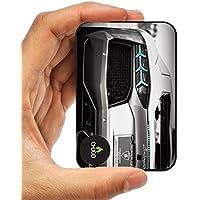 [Caricatore portatile mondo più piccolo 10000 mAh ] Power Bank chgjd® Lambo Design compatto, a forma di carta di credito dimensione 10000mAh-Batteria esterna Power Bank-Caricabatterie
