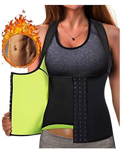 4a1b1845f Gotoly Waist Trainer Corset Hot Neoprene Sweat Vest Weight Loss Body Shaper  Workout Tank Tops Women
