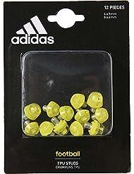 Adidas Tpu Studs Tacchetti, Argento (Plamet), NS