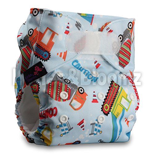 Preisvergleich Produktbild LittleBloom, Reusable Pocket Cloth Nappy, Fastener: Hook-Loop, Set of 1