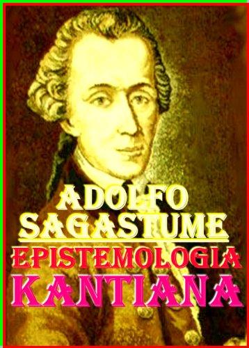 Portada del libro Epistemologia Kantiana