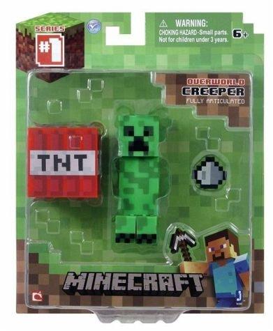 Minecraft Creeper mit Zubehör