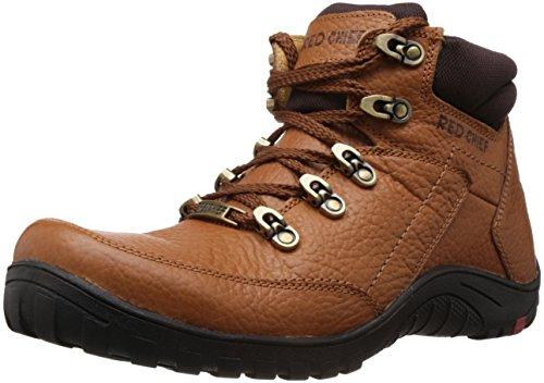 Redchief Men's Elephant Tan Leather Boots - 7 UK  (RC5027 107) image